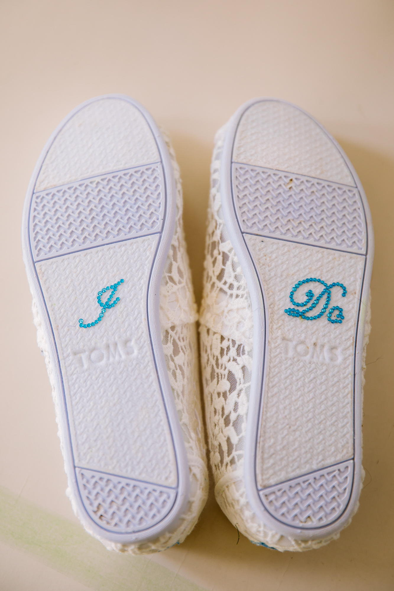 Waynesville, NC Wedding Photography | Wedding Shoes I DO Applique