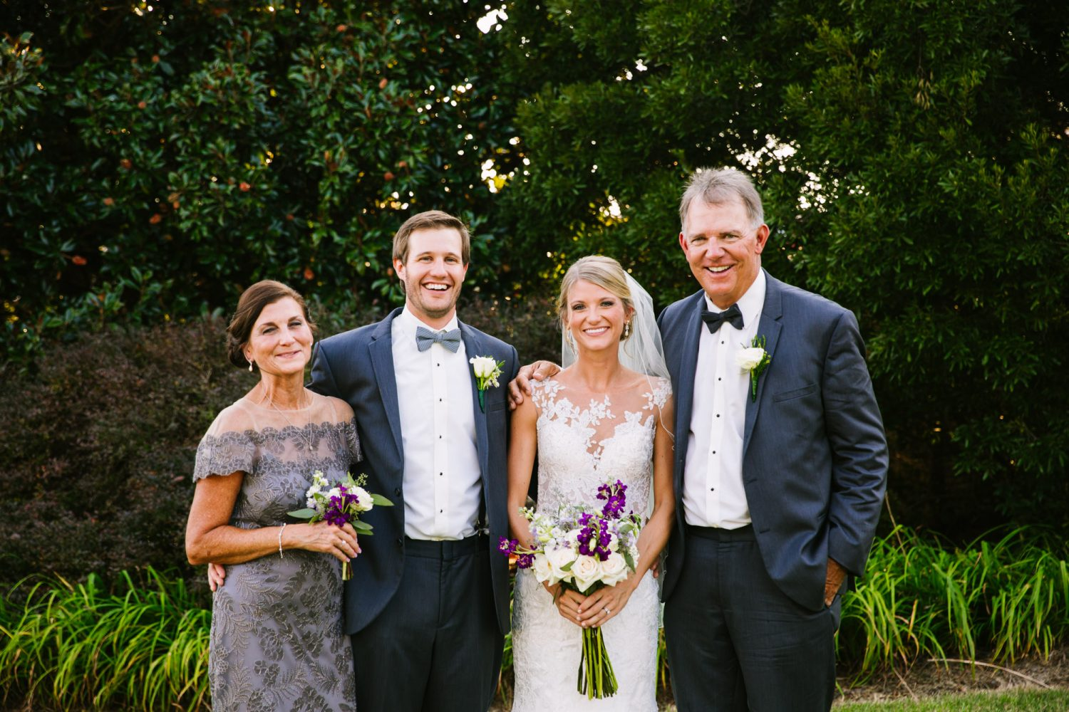Waynesville, NC Wedding Photography | Wedding Family Portrait