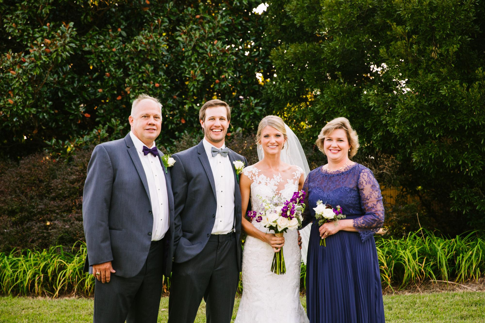 Waynesville, NC Wedding Photography | Wedding Family Portrait