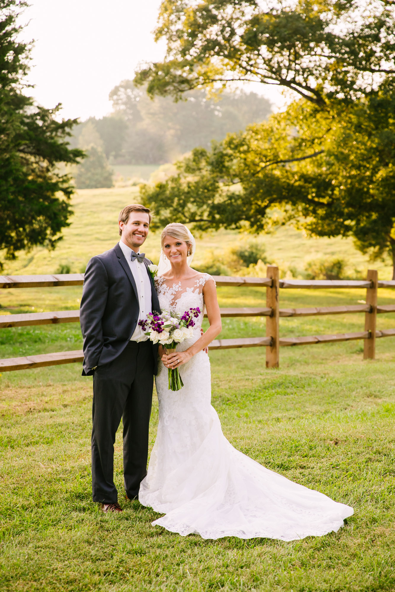 Waynesville, NC Wedding Photography | Bride and Groom Portrait