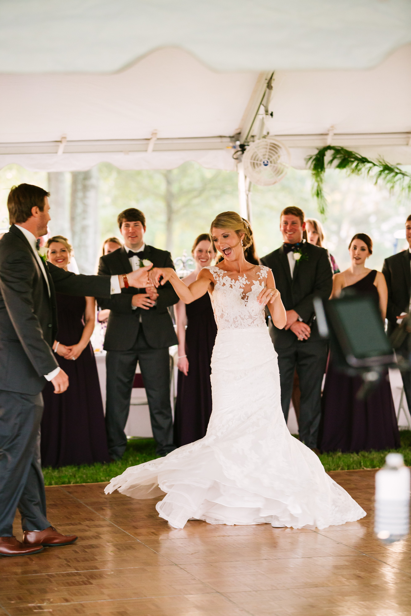 Waynesville, NC Wedding Photography | Bride and Groom First Dance