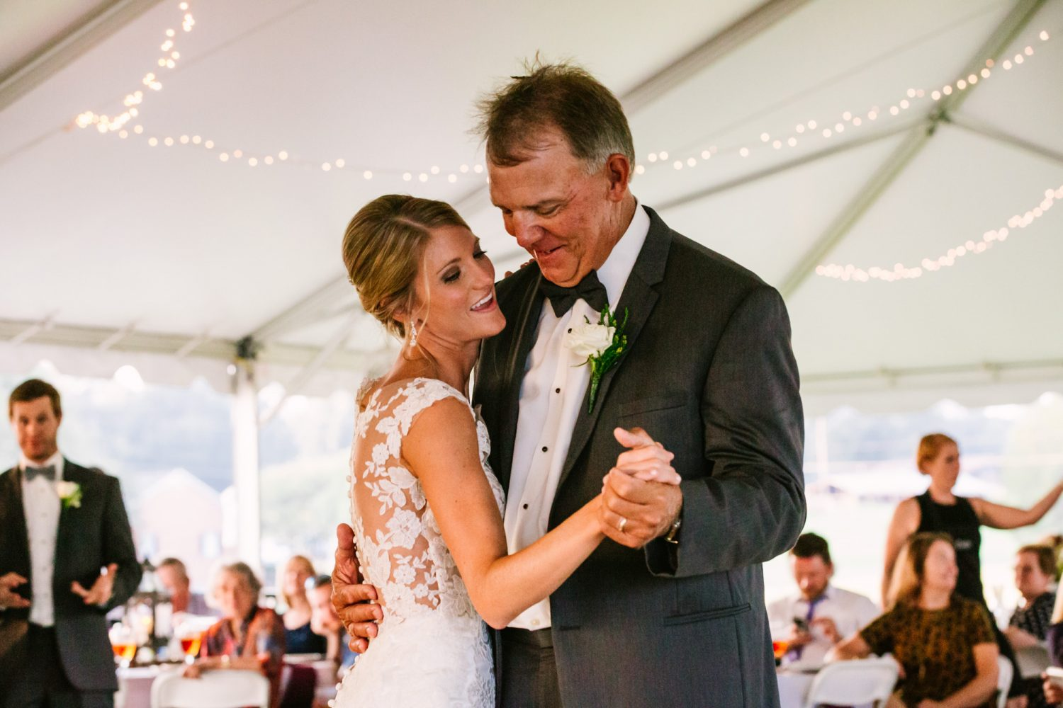 Waynesville, NC Wedding Photography | Father and Bride Dance
