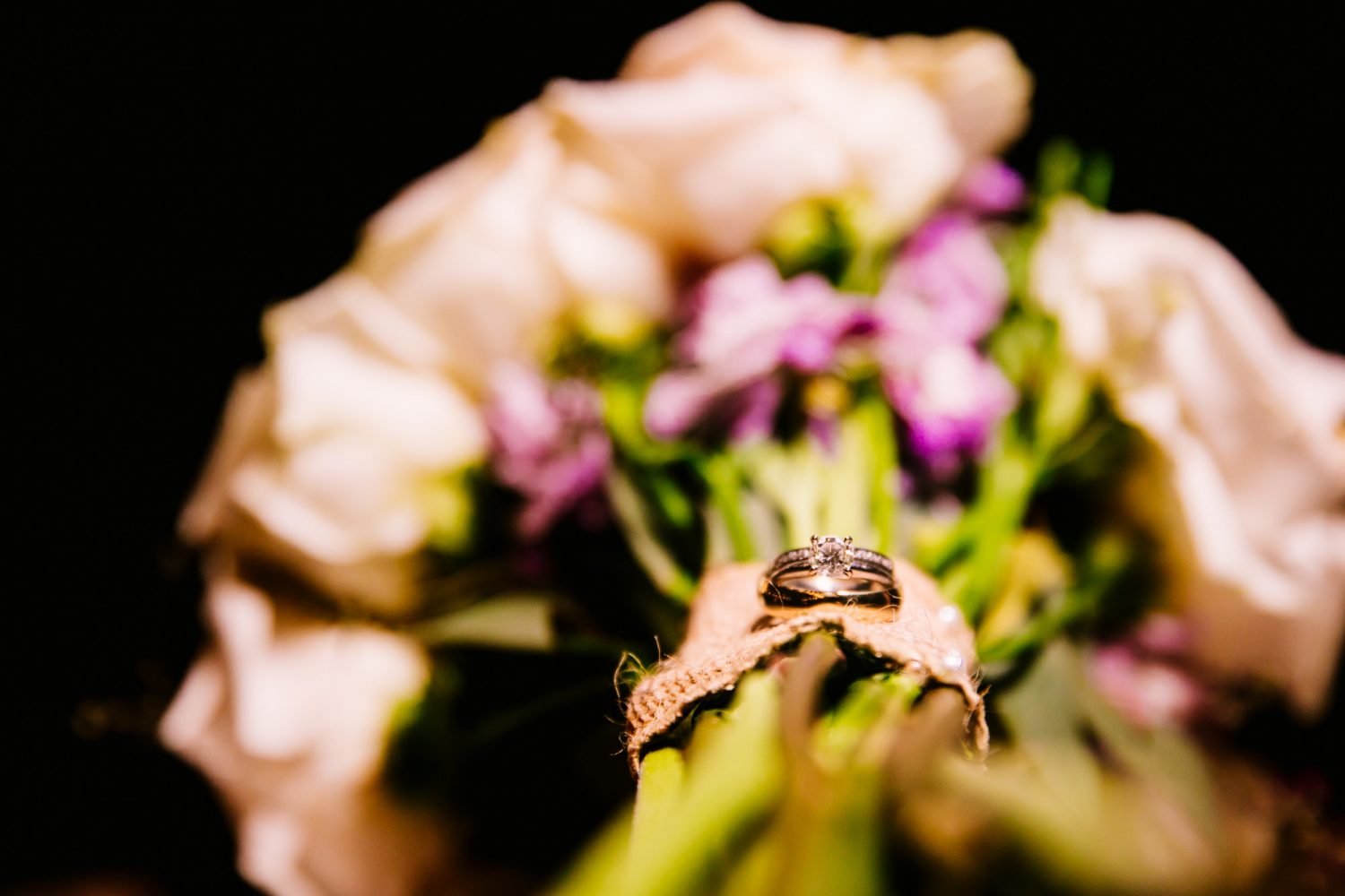 Waynesville, NC Wedding Photography | Wedding Band Detail Photo
