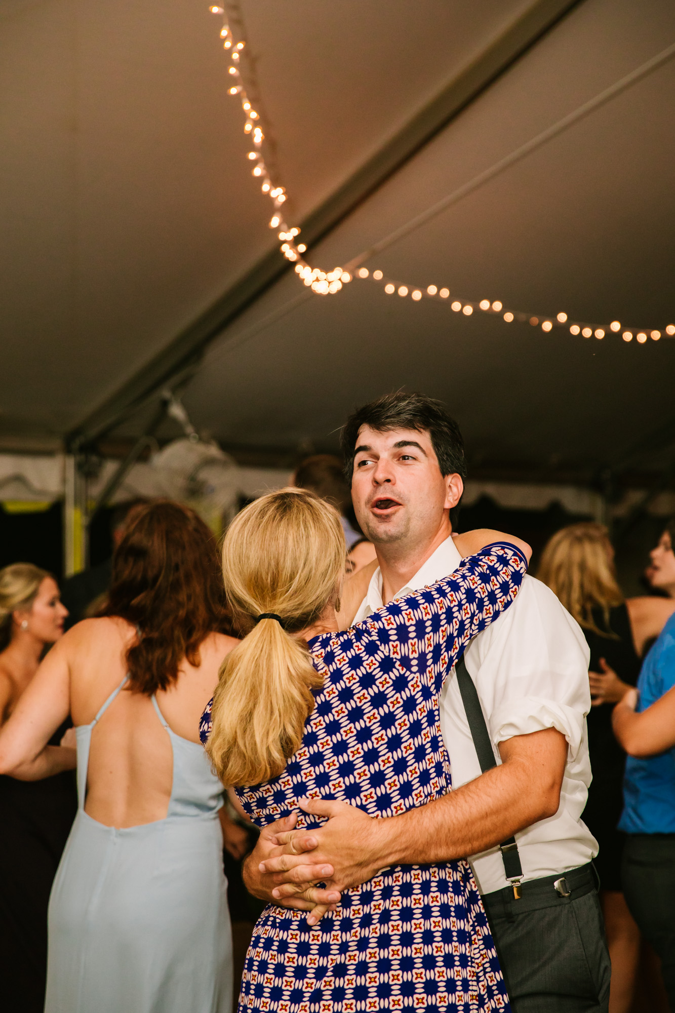 Waynesville, NC Wedding Photography | Wedding Reception Couple Dancing